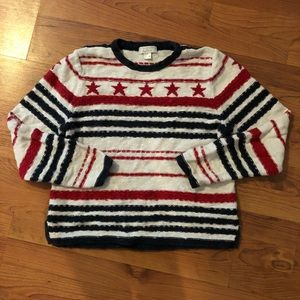2 for $20! Vintage 4th of July/Flag sweater